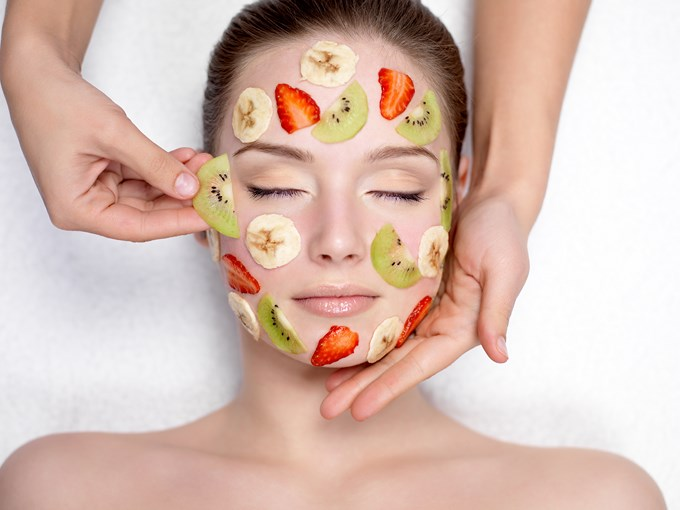 masque aux fruits rouges