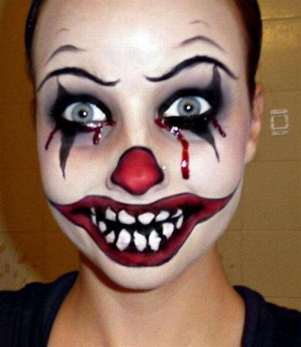 Maquillage d halloween facile a faire comment proc der pour r ussir - Image de maquillage d halloween ...