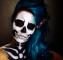 Maquillage d halloween facile a faire pour une impression maxi le jour J