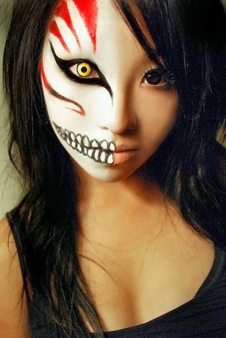 Maquillage halloween femme : quelques astuces pour un maquillage ...