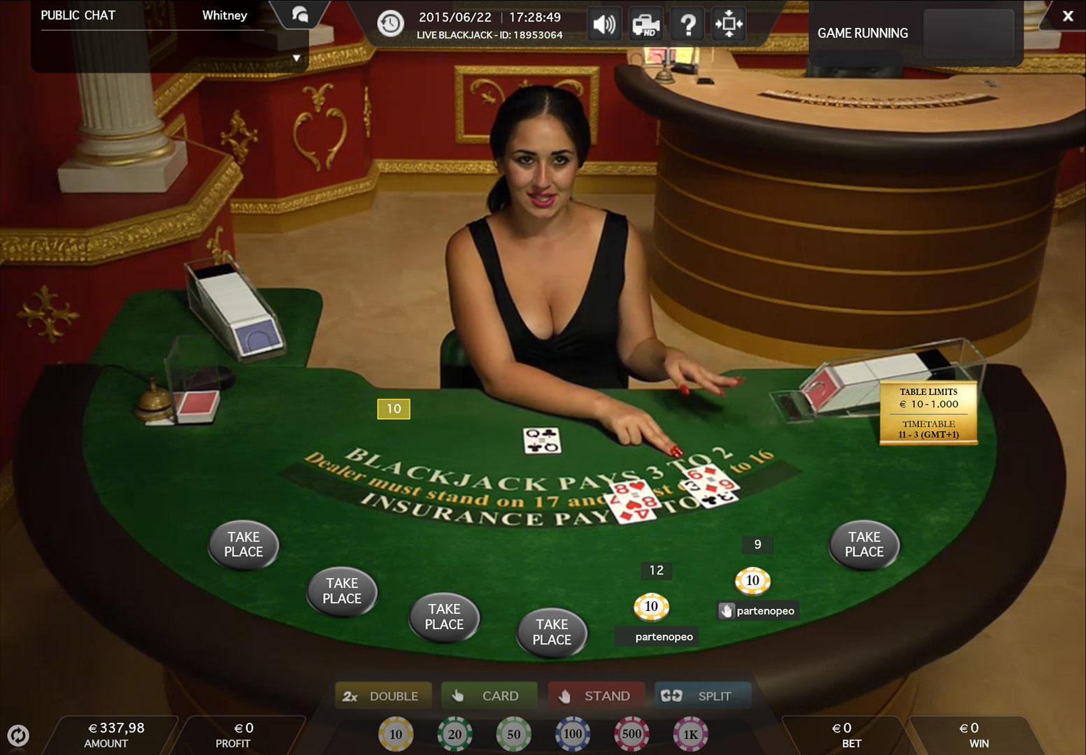 Slotlady blackjack youtube